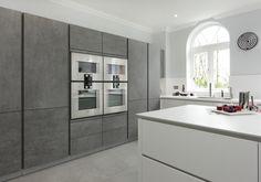 Alno Kitchen Cabinets 2020 - Home Comforts Kitchen Cabinet Interior, Kitchen Showroom, Kitchen Decor, Kitchen Cabinets, Alno Kitchen, Handleless Kitchen, Küchen In U Form, Zeitgenössisches Apartment, Apartment Ideas