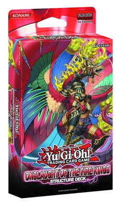 Onslaught of the Fire Kings - Structure Deck