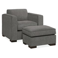 Ian Chair & Ottoman - Modern Accent & Lounge Chairs - Modern Living Room Furniture - Room & Board