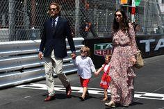 Monaco Princely Family attended the Grand Prix of Monaco