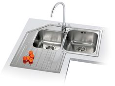 15 Cool Corner Kitchen Sink Designs | Corner Sink, Sinks And Corner Kitchen  Sinks