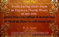 A useful Vastu Tip for you.