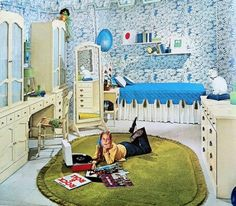 Mod •~• vintage bedroom