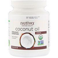 اكتشف هذا المنتج الذي وجدته على Iherb Com Nutiva زيت جوز الهند البكر 54 أوقية سائلة 1 6 لتر Coconut Oil Healthy Coconut Oil Cooking With Coconut Oil