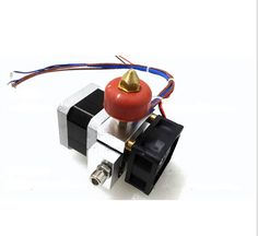 3D printer accessory single nozzle extruder kit with 100K thermistor working voltage 12V top quality free shipping