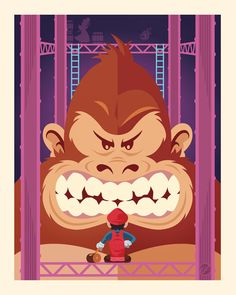 Donkey Kong  Created by by Jayson Weidel