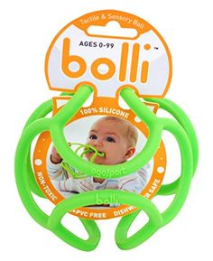 OgoSport Bolli Flexible Discovery Ball & Teether (3 Pack) | Smart Pinner
