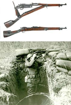 "Modified Springfield with periscope (""Guiberson Rifle"") Modifiziertes Springfield mit Periskop (""Guiberson Rifle"")"
