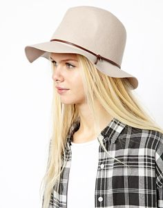 Esprit Felt Fedora Hat on shopstyle.com