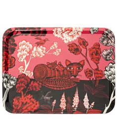 Birch Wood Fox Tray, Lush Designs. Shop more Kitchen and Dining at Liberty.co.uk