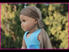 American Girl Doll Disney Frozen Elsa Hairstyle~ Inspired By Cutegirlshairstyles - YouTube Ag Doll Hairstyles, American Girl Hairstyles, Cute Hairstyles, American Girl Crochet, American Girl Diy, Ag Doll Crafts, Diy Doll, America Girl, Journey Girls