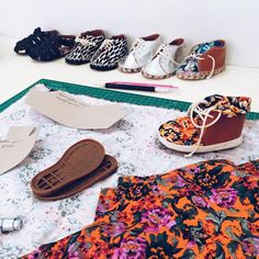 Time to make some baby shoes!  #hivishoes #babyshoes #vegan #crueltyfree