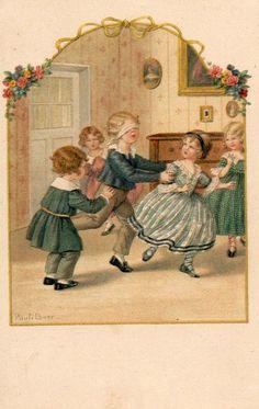 Pauli Ebner Postcard - Bambini Children - Scritta 1924 - EB134 | eBay