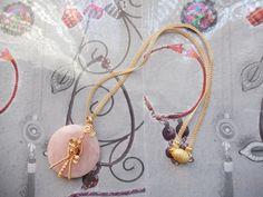 quartz rose d'après un schéma de Joyeria Capellania