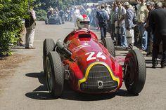Alfa Romeo Gran Premio Tipo 159 Alfetta in Goodwood Festival of Speed 2014!