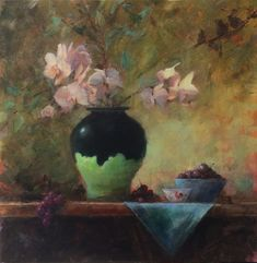 Bart Lindstrom Artworks Gallery Oil Painters, Still Life Art, New Artists, Orchids, Oil On Canvas, Fine Art, Gallery, Chinese Chicken, Painting