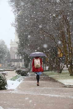 Winter at Baylor Uni