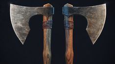 A simple bearded axe. Created in 3Ds Max, ZBrush, Substance Painter. Rendered in Marmoset
