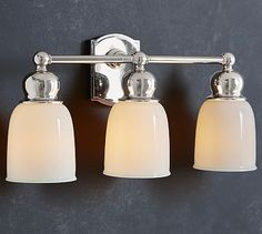 Covington Hotel Triple Sconce #potterybarn