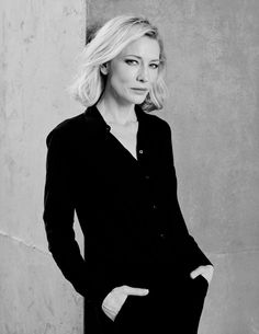 women is suits are friggin sexy. But cate Blanchette in a suit is SO SEXXXAYYYY