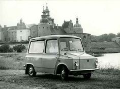 Tjorven, car for the         Swedish postal service        Kalmar verkstad AB, 1965