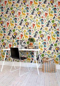 Wandbild Jungle Folklore von Rebel Walls