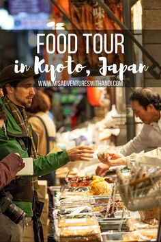Check out this food tour in Kyoto, Japan. Things to do in Kyoto, Japan.