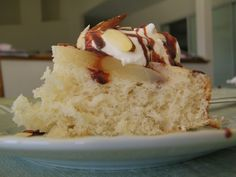 Pears Belle Helen Cake - an easy cake that replicates the flavors of vanilla, pears, chocolate and almonds in the classic French dessert