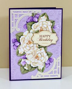 The Paper Boutique: Happy Birthday Card made with the Silhouette