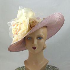 Aqua Designer Wool Feathers Band Panama Black Hat NEW $58