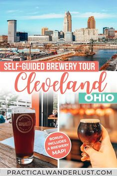 A self-guided tour of the best Cleveland breweries! Walk to 6 Cleveland breweries, plus a map of all the best breweries in Cleveland, Ohio. This is one of the best things to do in Cleveland, Ohio on your next weekend trip! Usa Travel Guide, Travel Usa, Travel Guides, Canada Travel, Beach Travel, Budget Travel, Travel Tips, Weekend Trips, Weekend Getaways