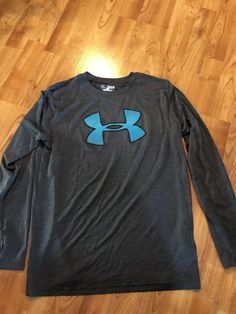 0b1bb76ed7 Boys Under Armour Heat Gear Loose Size Youth XL Long Sleeve Shirt Gray    6.50 (0 Bids) End Date  Tuesday Sep-11-2018 16 34 17 PDT Bid now