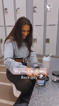 Back Day Workout, Back Workout Women, Full Body Gym Workout, Gym Workout Videos, Gym Workout For Beginners, Fitness Workout For Women, Body Fitness, Gym Workouts, Slim Thick Workout