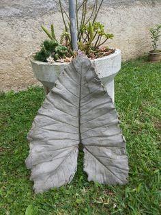 Resultado de imagem para vaso feito de toalha e cimento