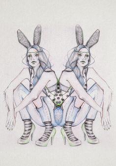 Back to Wonderland by Elena-Greta Apostol, via Behance