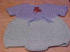 Newborn Romper - free crochet pattern