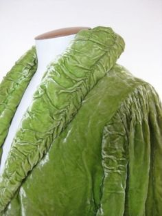 Silk and rayon velvets were very popular in 1930s fashion, particularly for evening wear.