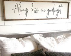 We decided on forever above & over the bed sign FREE Bedding Master Bedroom, Home Bedroom, Diy Bedroom Decor, Bedroom Ideas, Home Decor, Wall Decor, Barn Bedrooms, Bedding Decor, Bedroom Stuff