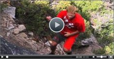 Mike Wilson Shows How to Do A Backflip with 99 Foot Rope Swing #funny #funnyvideo