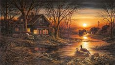 Shoreline! by Terry Redlin