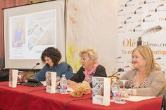 La presentación de la nueva novela de Amparo Andrés fue muy divertida