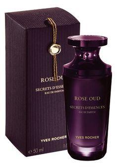 ROSE OUD - SECRETS D'ESSENCES Yves Rocher a lancé en janvier Rose Oud, la dernière eau de parfum de la gamme Secrets d'Essences. Ce parfum m'a été offert en échantillon lors de ma dernière commande...