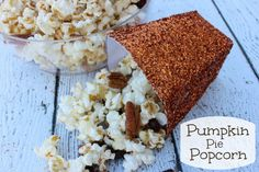 Yummy Pumpkin Pie Popcorn Recipe
