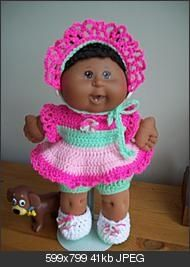 Cabbage patch outfits.