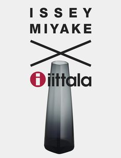 Iittala X Issey Miyake Vase