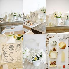 Decorate a table for lunch - Öğle yemekleri için masa dekorasyonu