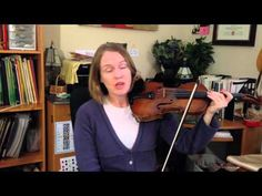 Laurie's Violin School: Straight Bowing