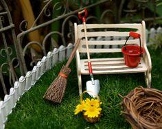 Fairy Garden Kit - Miniature Furniture