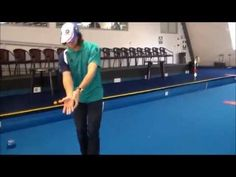 The greatest lawn bowls coaching tip you will ever learn. The shooter stance will not only improve your balance, it will improve your line and weight control. Weight Control, Bowls, Lawn, Basketball Court, Learning, Youtube, Serving Bowls, Studying, Teaching