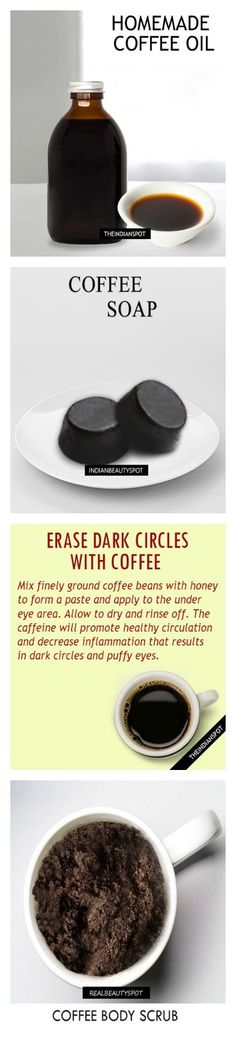 BEST DIY HOMEMADE BEAUTY PRODUCTS USING COFFEE